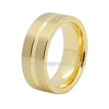 Wholesale 4mm high polished black ceramic wedding band ring